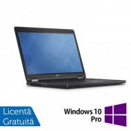 Laptop DELL Latitude E5250, Intel Core i5-5300U 2.30GHz, 8GB DDR3, 120GB SSD, 13 Inch + Windows 10 Pro Laptopuri