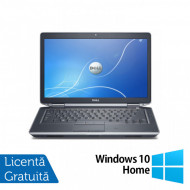 Laptop DELL Latitude E6430, Intel Core i7-3520QM 2.90GHz, 4GB DDR3, 320GB SATA, DVD-RW, 14 Inch + Windows 10 Home Laptopuri
