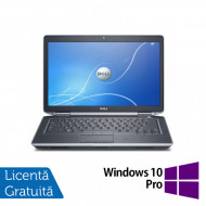 Laptop DELL Latitude E6430, Intel Core i7-3520QM 2.90GHz, 4GB DDR3, 320GB SATA, DVD-RW, 14 Inch + Windows 10 Pro Laptopuri