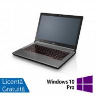 Laptop Fujitsu Lifebook E744, Intel Core i5-4200M 2.50GHz, 8GB DDR3, 120GB SSD, DVD-RW, Fara Webcam, 14 Inch + Windows 10 Pro Laptopuri