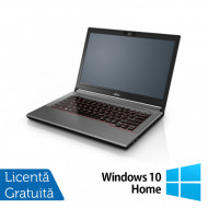 Laptop Fujitsu Lifebook E744, Intel Core i5-4200M 2.50GHz, 8GB DDR3, 120GB SSD, DVD-RW, Fara Webcam, 14 Inch + Windows 10 Home Laptopuri