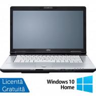 Laptop FUJITSU SIEMENS E751, Intel Core i5-2520M 2.50GHz, 4GB DDR3, 500GB SATA, DVD-RW, 15.6 Inch, Fara Webcam + Windows 10 Home Laptopuri