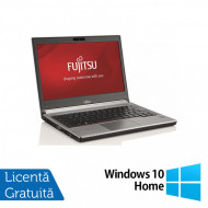 Laptop Fujitsu Siemens Lifebook E736, Intel Core i5-6200U 2.30GHz, 8GB DDR4, 240GB SSD, 13 Inch + Windows 10 Home Laptopuri