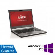 Laptop Fujitsu Siemens Lifebook E736, Intel Core i5-6200U 2.30GHz, 8GB DDR4, 240GB SSD, 13 Inch + Windows 10 Pro Laptopuri