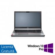 Laptop FUJITSU SIEMENS Lifebook E754, Intel Core i5-4200M 2.50GHz, 4GB DDR3, 240GB SSD, DVD-RW, 15.6 Inch, Fara Webcam + Windows 10 Pro Laptopuri
