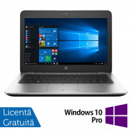 Laptop Hp EliteBook 820 G3, Intel Core i5-6200U 2.30GHz, 8GB DDR4, 256GB SSD, 12.5 Inch + Windows 10 Pro Laptopuri