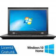Laptop LENOVO ThinkPad L530, Intel Core i5-3230M 2.60GHz, 4GB DDR3, 500GB SATA, DVD-RW, 15.6 Inch, Fara Webcam + Windows 10 Home Laptopuri