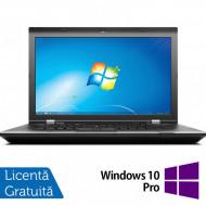 Laptop LENOVO ThinkPad L530, Intel Core i5-3230M 2.60GHz, 4GB DDR3, 500GB SATA, DVD-RW, 15.6 Inch, Fara Webcam + Windows 10 Pro Laptopuri