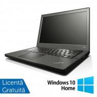 Laptop Refurbished Lenovo Thinkpad x240, Intel Core i5-4300U 1.90GHz, 8GB DDR3, 120GB SSD, 12 Inch + Windows 10 Home Laptopuri