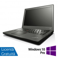 Laptop LENOVO Thinkpad x240, Intel Core i7-4600U 2.10GHz, 8GB DDR3, 120GB SSD, 12.5 Inch, Webcam + Windows 10 Pro Laptopuri