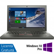 Laptop Lenovo Thinkpad X250, Intel Core i5-5300U 2.30GHz, 8GB DDR3, 120GB SSD, 12.5 Inch + Windows 10 Pro Laptopuri