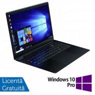Laptop Nou Slim School WEIGO WHA-156H, Intel Quad Core Celeron N4100, 1.10 - 2.40GHz, 8GB DDR4, 64GB eMMC + 128GB SSD, 15.6 Inch IPS Full HD, Webcam + Windows 10 Pro Laptopuri