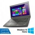 Laptop Lenovo ThinkPad T440s, Intel Core i5-4200U 1.60GHz, 4GB DDR3, 120GB SSD, 14 Inch + Windows 10 Home