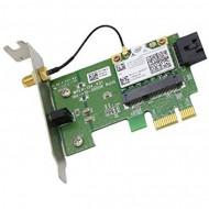 Placa retea wireless, o antena, slot PCI-E X1, low profile pentru SFF, diverse modele, second hand Calculatoare