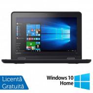 Laptop LENOVO Yoga 11e, Intel Celeron N3150 1.60GHz, 4GB DDR3, 120GB SSD, Touchscreen, Webcam, 11.6 Inch + Windows 10 Home Laptopuri
