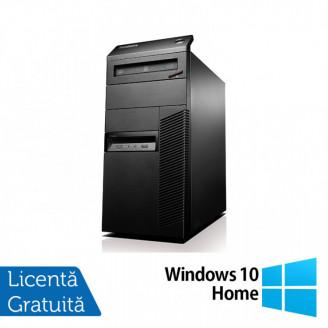Calculator Lenovo Thinkcentre M93 Tower, Intel Pentium G3220 3.00GHz, 4GB DDR3, 250GB SATA + Windows 10 Home Calculatoare