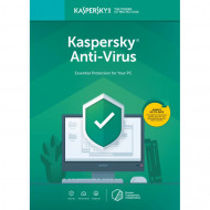 Licenta Retail Kaspersky Anti-Virus - protectie premiata, eficienta si securitate usor de gestionat - valabila pentru 1 an, 1 echipament Software & Diverse