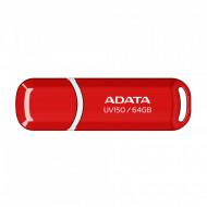 Memorie USB 3.0 ADATA 64 GB, Rosu, AUV150-64G-RRD Componente & Accesorii