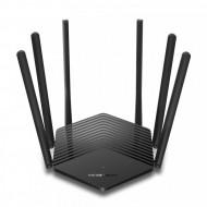 ROUTER MERCUSYS wireless 1900Mbps, 2 porturi LAN Gigabit, 1 port WAN Gigabit, Dual Band AC1900 6 x antena externa, MR50G Servere & Retelistica