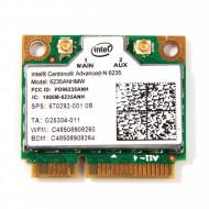 Modul Intel Centrino Advanced-N 6235 6235ANHMW, Wlan, Bluetooth 4.0, Half MINI Card, 802.11 a/b/g/n, Dual-band, 300 Mbps Laptopuri
