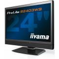 Monitor iiYama B2403WS, 24 Inch LCD, 1920 x 1200, VGA, HDMI, Boxe integrate