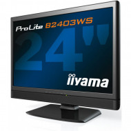 Monitor iiYama B2403WS, 24 Inch LCD, 1920 x 1200, VGA, HDMI, Boxe integrate Monitoare & TV