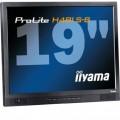 Monitor iiYama ProLite H481S, 19 Inch LCD, 1280 x 1024, VGA, DVI, Fara picior