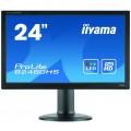 Monitor LED iiYama ProLite B2480HS, 24 Inch Full HD, VGA, DVI, HDMI, Fara Picior