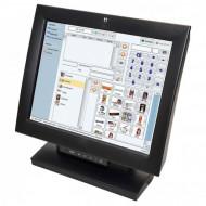 Monitor TouchScreen Wincor Nixdorf BA83, 15 Inch LCD, 1024 x 768, VGA, DVI, USB POS & Supraveghere