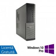 Calculator DELL OptiPlex 3010 Desktop, Intel Pentium G870 3.10GHz, 4GB DDR3, 250GB SATA, DVD-RW + Windows 10 Pro Calculatoare