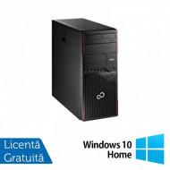 Calculator FUJITSU SIEMENS Esprimo P700 Tower, Intel Core i3-2120 3.30GHz, 4GB DDR3, 320GB SATA, DVD-ROM + Windows 10 Home Calculatoare