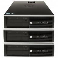 Pachet 3x Calculator HP 6005 SFF, AMD Athlon II x2 215 2.70GHz, 4GB DDR3, 250GB SATA, DVD-RW Calculatoare