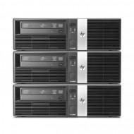 Pachet 3x Calculator HP RP5700 SFF, Intel Core 2 Duo E6400 2.13GHz, 3GB DDR2, 500GB SATA, DVD-RW Calculatoare