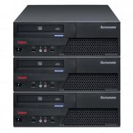 Pachet 3x Calculator LENOVO M58 SFF, Intel Core 2 Duo E7500 2.93GHz, 4GB DDR2, 160GB SATA Calculatoare