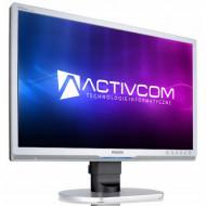 Monitor PHILIPS 220P1, 22 Inch LCD, 1680 x 1050, VGA, DVI, Fara picior Monitoare & TV