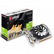 Placa Video Noua MSI GeForce GT 730, 4GB GDDR3 128Bit, VGA, DVI, HDMI, PCI Express 2.0, High Profile Calculatoare