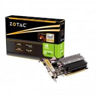 Placa Video Noua ZOTAC GeForce GT 730, 4GB GDDR3 64Bit, VGA, DVI, HDMI, PCI Express 2.0, High & Low Profile Calculatoare