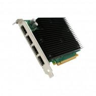 Placa video Nvidia Quadro NVS 450, 512MB DDR3, 4x Display Port, 64 Bit, Silent Cooling Calculatoare