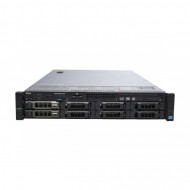 Server Dell PowerEdge R720, 2x Intel Xeon Deca Core E5-2650L V2, 1.70GHz - 2.10GHz, 128GB DDR3 ECC, 2 x HDD 1.2TB SAS/10K + 4x 4TB HDD SATA, Raid Perc H710 mini, Idrac 7 Enterprise, 2 surse HS Servere & Retelistica