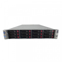 Server HP ProLiant DL380p G8 2U, 2xCPU Intel Hexa Core Xeon E5-2620 2.0GHz-2.5GHz, 64GB DDR3 ECC, 2x2TB SATA/7.2K, Raid P420/1GB, iLO4 Advanced, 2 Port x10 Gigabit SFP, 2xSurse Hot Swap
