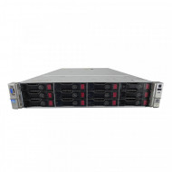 Server HP ProLiant DL380p G8 2U, 2x CPU Intel Hexa Core Xeon E5-2620 v2 2.10GHz - 2.60GHz, 256GB DDR3 ECC, 4 x SSD 480GB + 8x4TB SATA/7.2K, Raid P420/1GB, iLO4 Advanced, 2 Port x10 Gigabit SFP, 2xSurse Hot Swap Servere & Retelistica