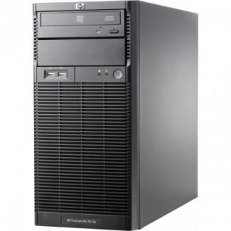 Server HP ProLiant ML110 G6 Tower, Intel Xeon Quad Core X3430 2.40GHz, 4GB DDR3, 400GB SATA, PSU 300W Servere & Retelistica