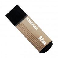 Memorie USB 2.0 KINGMAX 32 GB, Cu capac, Auriu & negru, Carcasa aluminiu Componente & Accesorii