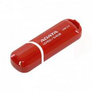 Memorie USB 3.2 ADATA 64 GB, Cu capac, Rosu, Carcasa plastic Componente & Accesorii