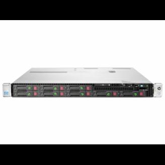 Server HP ProLiant DL360e G8, 1U, 2x Intel Octa Core Xeon E5-2450L 1.8 GHz-2.3GHz, 128GB DDR3 ECC Reg, 2x SSD 240GB SATA + 6x 900GB SAS/10k, Raid Controller HP SmartArray P822/2GB, iLO 4 Advanced, 2x Surse 750W HOT SWAP