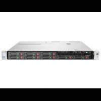 Server HP ProLiant DL360e G8, 1U, 2x Intel Octa Core Xeon E5-2450L 1.8 GHz-2.3GHz, 96GB DDR3 ECC Reg, 2x SSD 240GB SATA + 4x 900GB SAS/10k, Raid Controller HP SmartArray P822/2GB, iLO 4 Advanced, 2x Surse HOT SWAP