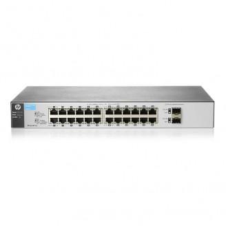 Switch HP 1810-24G v2 J9803A, Managed, 24 porturi Gigabit + 2 porturi SFP Servere & Retelistica