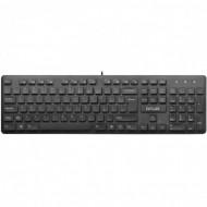 Tastatura Delux KA150U, cu fir, 105 taste, USB Componente & Accesorii