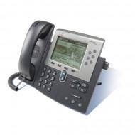 Telefon NOU VoIP Cisco CP-7962G, DHCP, 2 x RJ-45 Servere & Retelistica