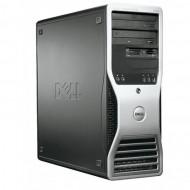 Workstation DELL Precision 390, Intel Core 2 Duo E6300 1.86GHz, 2GB DDR2, 160GB SATA, ATI FIRE GL V3400 128 MB Calculatoare